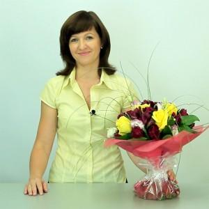 Аквапак для букета цветов