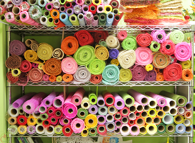 Стеллаж рулонных упаковочных материалов