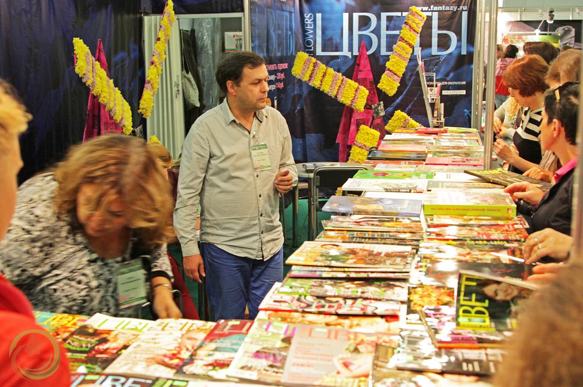 Книжные прилавки порадовали гостей выставки
