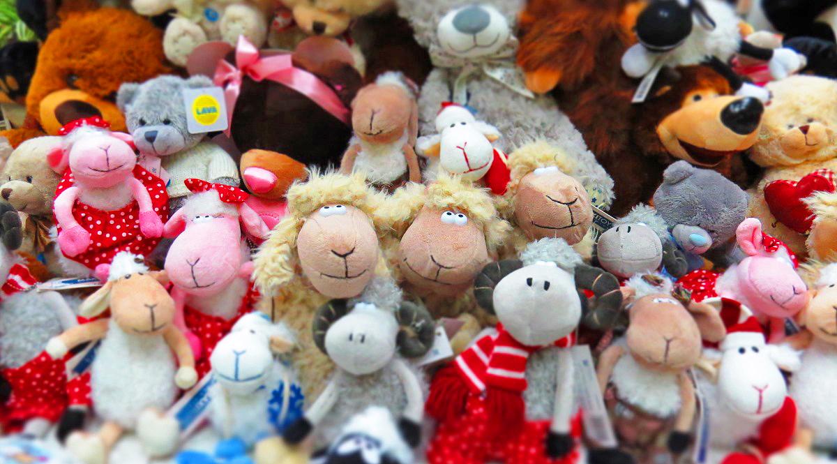 Мягкие игрушки прекрасный сувенир- символ года!